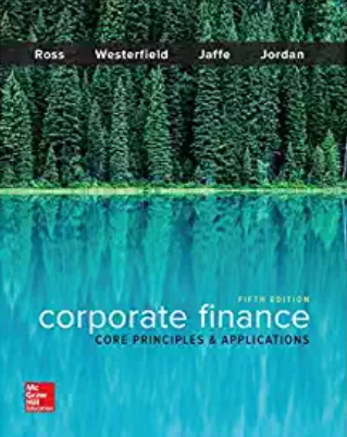 test bank for Corporate Finance: Core Principles and Applications 5th Edition的图片 1