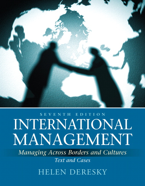 test bank for International Management: Managing Across Borders and Cultures, Text and Cases, 7th Edition