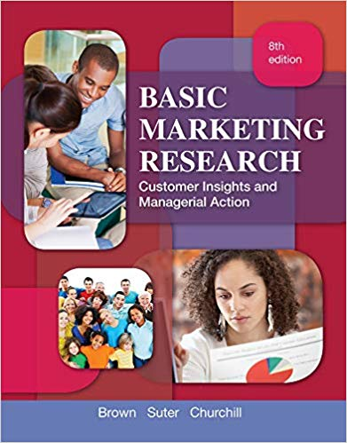 test bank for Basic Marketing Research 8th Edition by Tom J. Brown