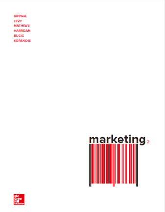 test bank for Marketing 2nd Australian Edition by Dhruv Grewal的图片 1