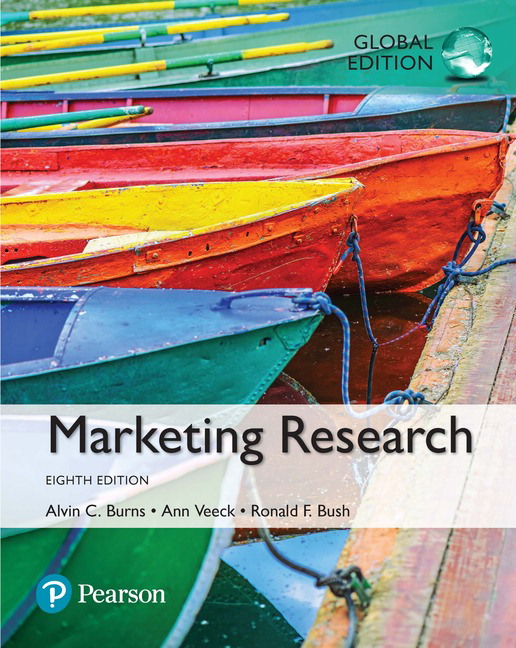 test bank for Marketing Research 8th Global Edition By Alvin C. Burns的图片 1