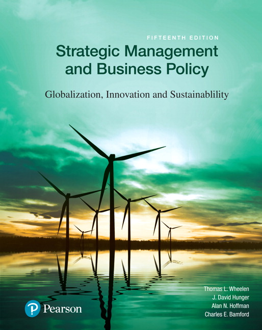 test bank for Strategic Management and Business Policy: Globalization, Innovation and Sustainability 15th Edition