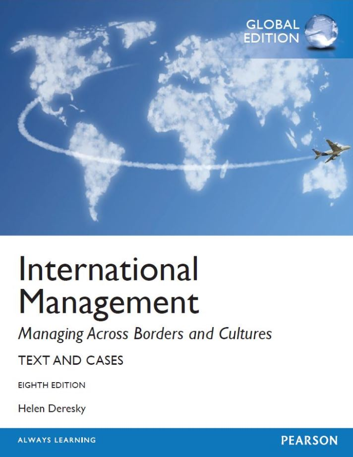 test bank for International Management: Managing Across Borders and Cultures, Text and Cases 8th global Edition的图片 1