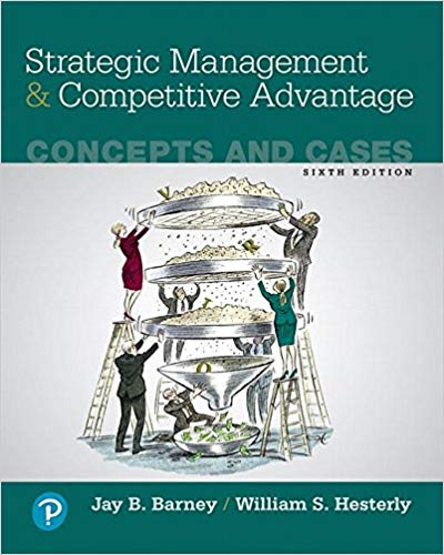 test bank for Strategic Management and Competitive Advantage: Concepts and Cases 6th Edition