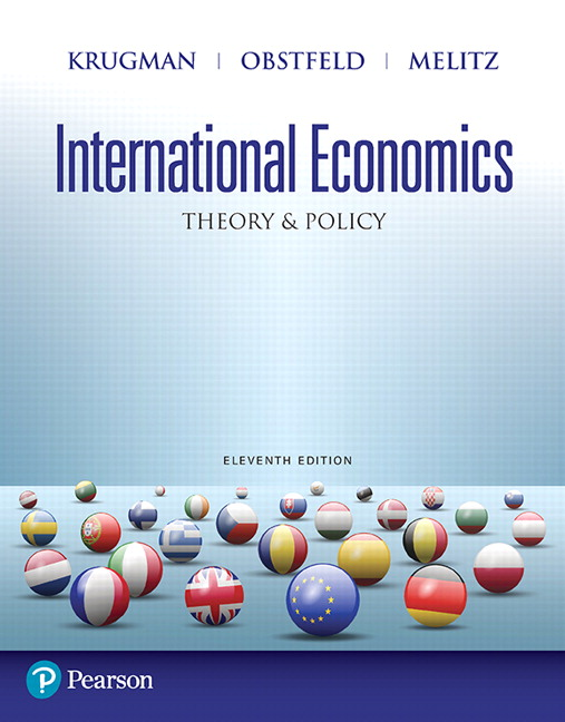 solution manual for International Economics: Theory and Policy 11th Edition by Paul R. Krugman
