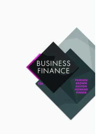 test bank for Business Finance 12th Edition by Graham Peirson