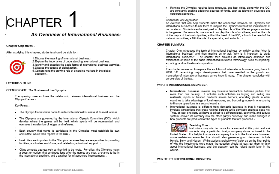solution manual for International Business Global 8th Edition by Griffin的图片 3