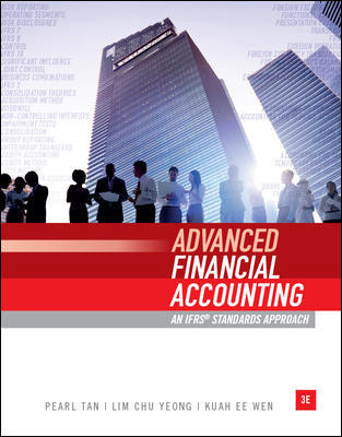 test bank for Advanced Financial Accounting: An IFRS Standards Approach 3rd Edition