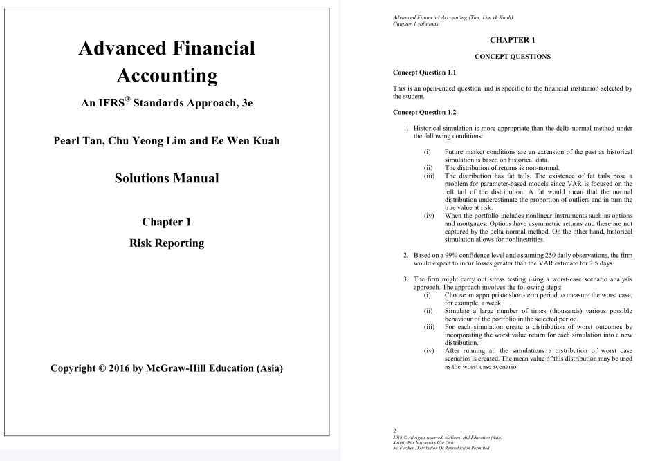 solution manual for Advanced Financial Accounting: An IFRS Standards Approach 3rd Edition的图片 3