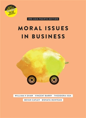 solution manual for Moral Issues in Business 3rd Asia Pacific Edition