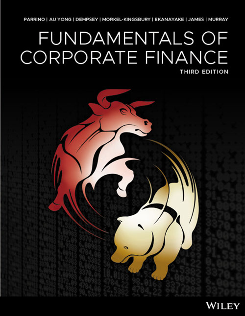solution manual for Fundamentals of Corporate Finance 3rd Australian Edition by Parrino
