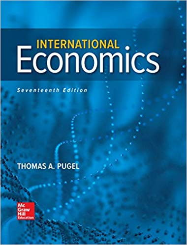 test bank for International Economics 17th Edition by Thomas Pugel