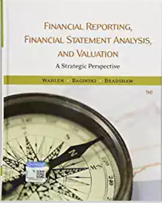 test bank for Financial Reporting, Financial Statement Analysis and Valuation 9th Edition的图片 1