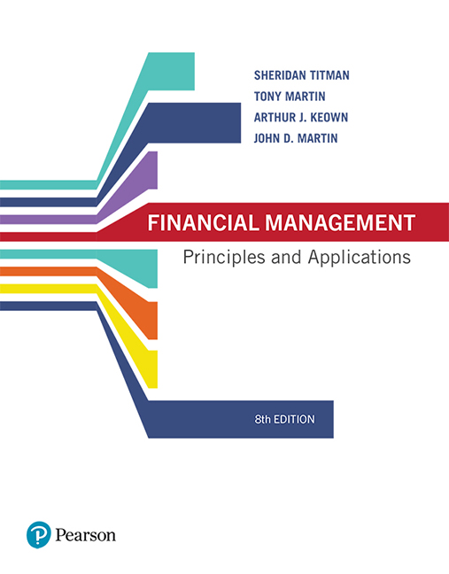 solution manual for Financial Management: Principles and Applications 8th Edition