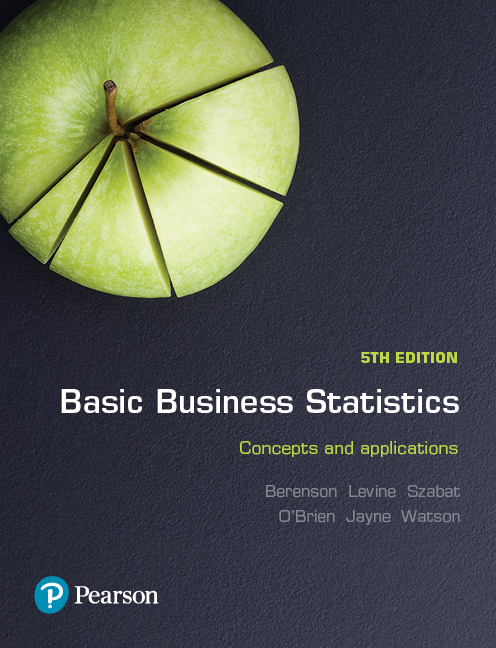 solution manual for Basic Business Statistics 5th Australia Edition by Mark Berenson
