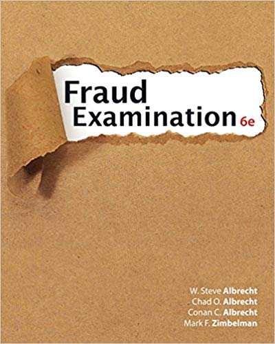 solution manual for Fraud Examination 6th Edition by W. Steve Albrecht