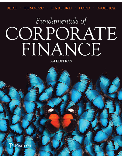 solution manual for Fundamentals of Corporate Finance 3rd Australian Edition By Jonathan Berk