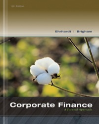 test bank for Corporate Finance A Focused Approach 5th Edition by Michael C. Ehrhardt的图片 1