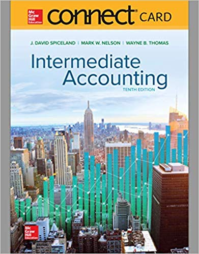 test bank for Intermediate Accounting 10th edition by David Spiceland的图片 1