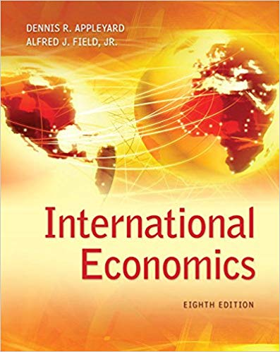 test bank for International Economics 8th Edition by Dennis Appleyard的图片 1