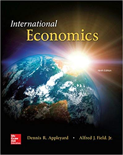solution manual for International Economics 9th Edition by Dennis R Appleyard