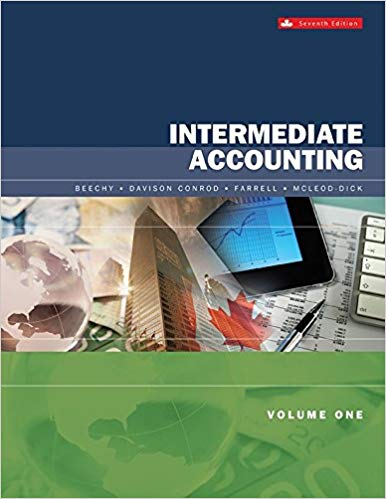 test bank for Intermediate Accounting Volume 1 7th Canadian Edition by Thomas H. Beechy