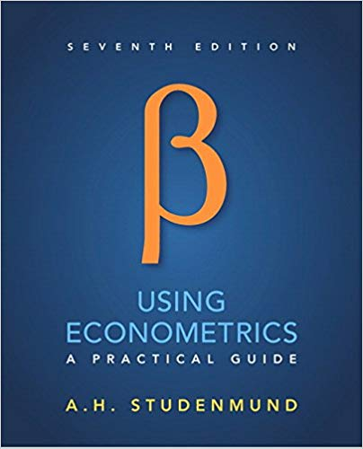 Solution manual for Using Econometrics: A Practical Guide 7th Edition by A. H. Studenmund的图片 1