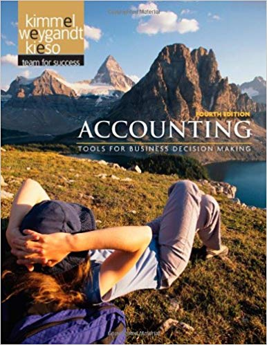 test bank for Accounting: Tools for Business Decision Making, 4th Edition by Paul D. Kimmel的图片 1