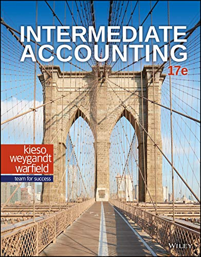 test bank for Intermediate Accounting 17th Edition by Donald E. Kieso