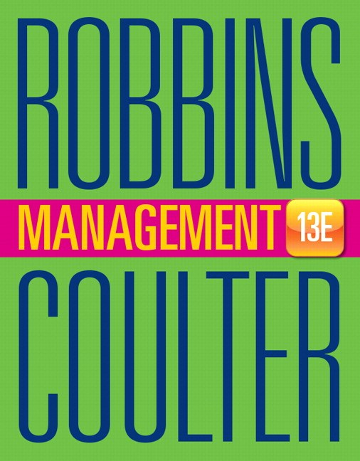 Test bank for Management, 13th Edition by Stephen P. Robbins