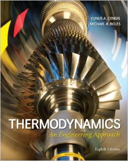 Solution manual for Thermodynamics An Engineering Approach 8th Edition by Cengel的图片 1
