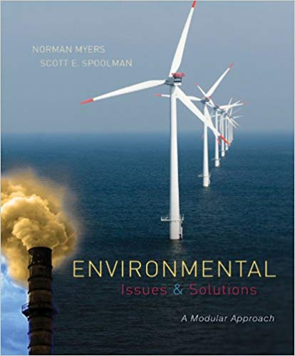 test bank for Environmental Issues and Solutions: A Modular Approach 1st Edition by Norman Myers