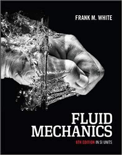 solution manual for Fluid Mechanics in SI Units 8th Edition by Frank M. White