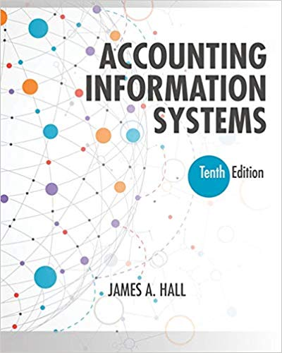 Test bank for Accounting Information Systems 10th Edition by James A. Hall
