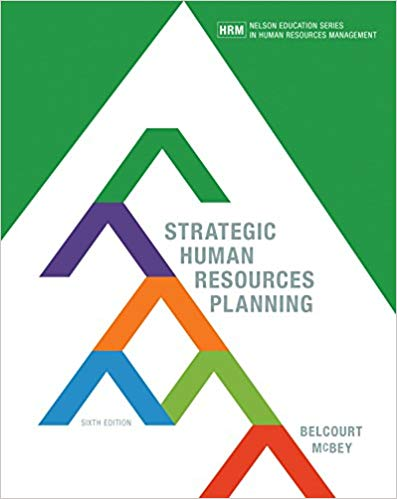 Test bank for Strategic Human Resources Planning 6th edition by Monica Belcourt