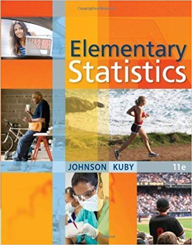 Solution manual for Elementary Statistics 11th Edition by Johnson