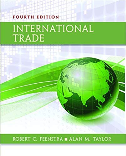 Solution manual for International Trade 4th Edition by Robert C. Feenstra的图片 1