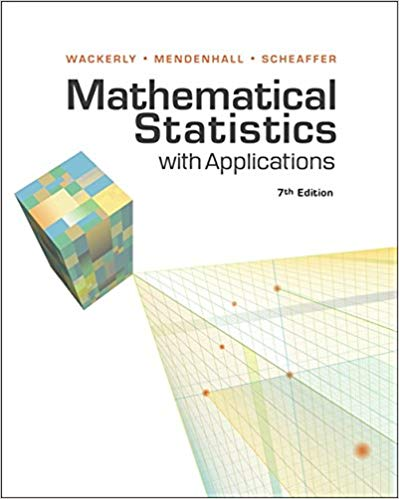 Solution manual for Mathematical Statistics with Applications 7th Edition by Dennis Wackerly的图片 1