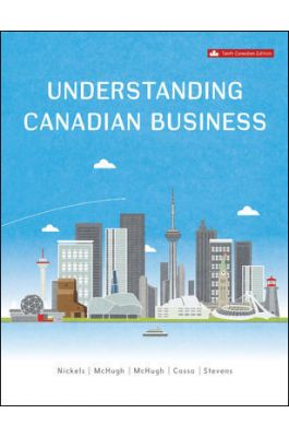 Test bank for Understanding Canadian Business 10th edtion by William G Nickels