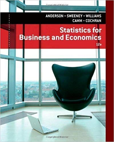 Test bank for Statistics for Business & Economics 12th Edition by Anderson David R.的图片 1