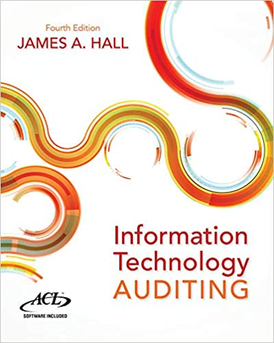 Test bank for Information Technology Auditing 4th Edition by James A. Hall