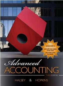 test bank for Advanced Accounting 3th edition by Halsey Hopkins