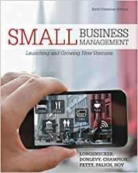 Test bank for Small Business Management: Launching and Growing New Ventures 6th Canadian Edition by Justin Longenecker