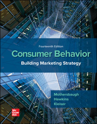Test bank for Consumer Behavior: Building Marketing Strategy 14th Edition By David Mothersbaugh的图片 1