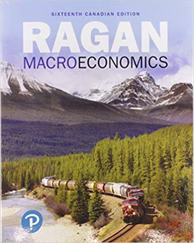Test bank for Macroeconomics 16th Canadian Edition by Christopher Ragan