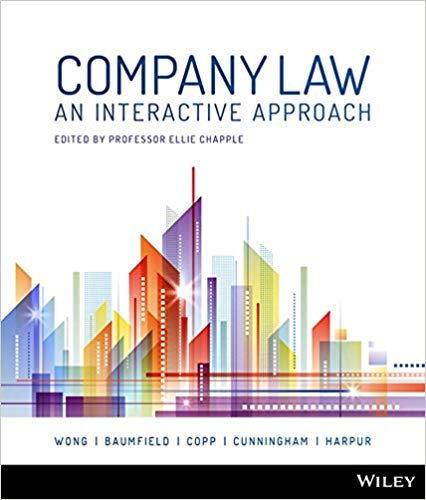Test bank for Company Law: An Interactive Approach 1st Edition by Alex Wong的图片 1