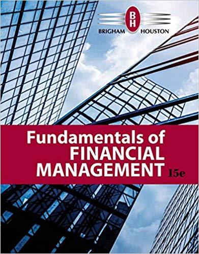 Test bank for Fundamentals of Financial Management 15th Edition by Eugene F. Brigham