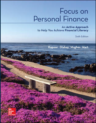test bank for Focus on Personal Finance 6th edition by Jack Kapoor