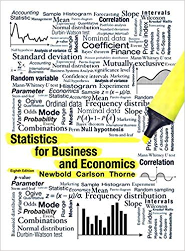 Test bank for Statistics for Business and Economics 8th Edition by Paul Newbold