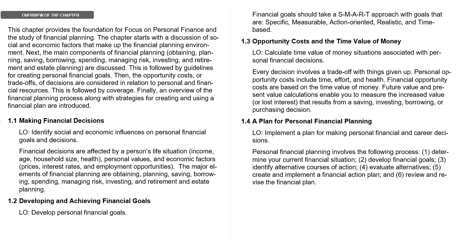 Solution manual for Focus on Personal Finance 6th edition by Jack Kapoor的图片 3